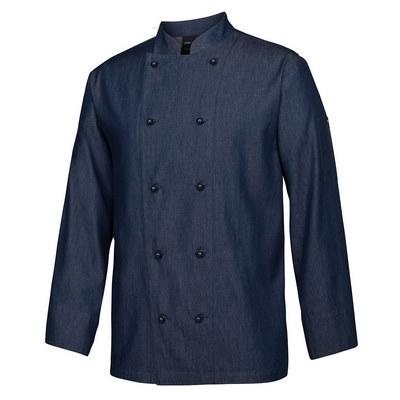 JBs Denim L/S Chefs Jacket  5CDL-2XS-4XL_JBS