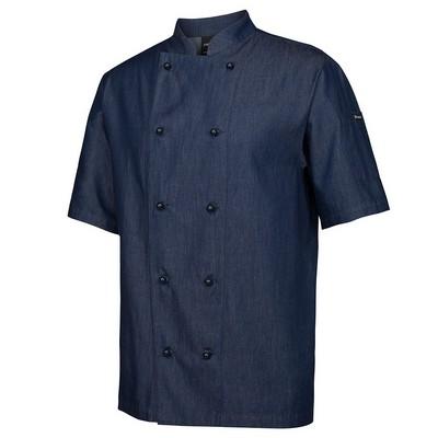 JBs Denim S/S Chefs Jacket  5CDS-2XS-4XL_JBS