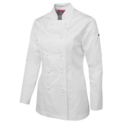 JBs Ladies L/S Chefs Jacket 5CJ1-06-24_JBS