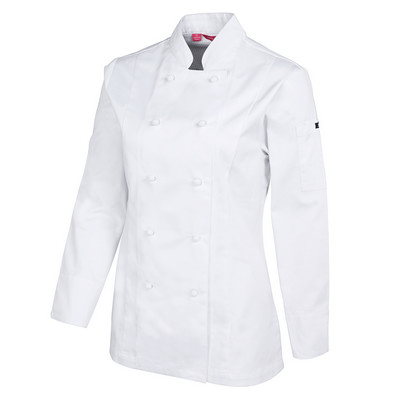 JBs Ladies L/S Vented Chefs Jacket 5CVL1-06-24_JBS