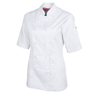 JBs Ladies S/S Vented Chefs Jacket 5CVS1-06-24_JBS