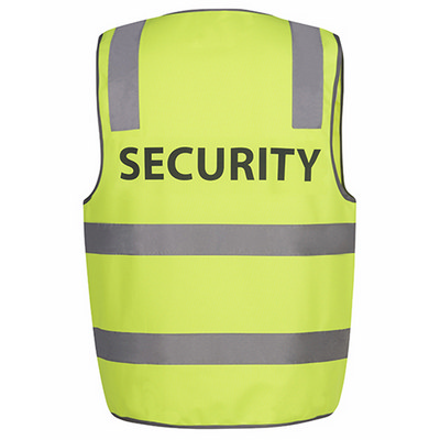 JBs Hi Vis D+N Safety Vest Security (6DNS5_JBS)