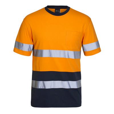 JBs Hi Vis (D+N) Cotton T-Shirt (6DNTC_JBS)