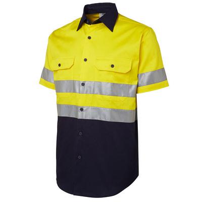 JBs Hi Vis (D+N) S/S 190G Shirt (6HSS_JBS)