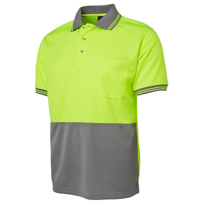 JBs Hi Vis S/S Traditional Polo (6HVPS_JBS)