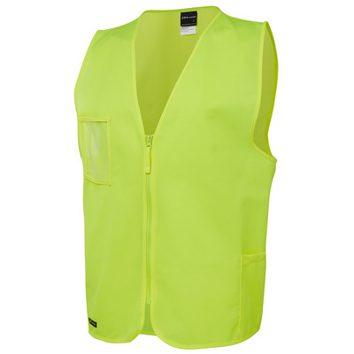 JBs Hi Vis Zip Safety Vest (6HVSZ_JBS)
