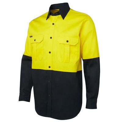 JBs Hi Vis L/S 190G Shirt (6HWL_JBS)