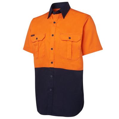 JBs Hi Vis S/S 190G Shirt (6HWS_JBS)