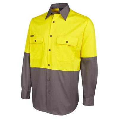 JBs Hi Vis L/S 150G Shirt (6HWSL_JBS)
