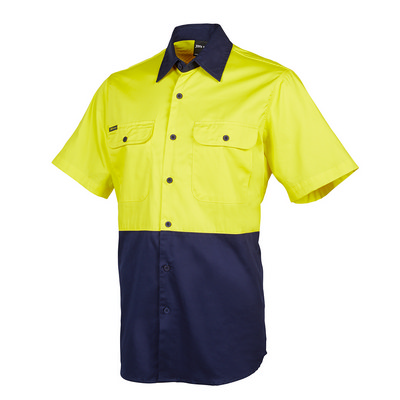 JBs Hi Vis S/S 150G Shirt (6HWSS_JBS)