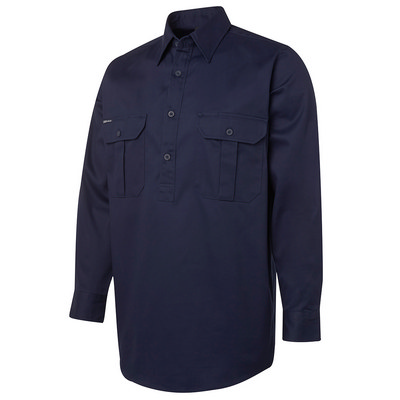 JBs L/S 190G Close Front Work Shirt (6WSCF_JBS)