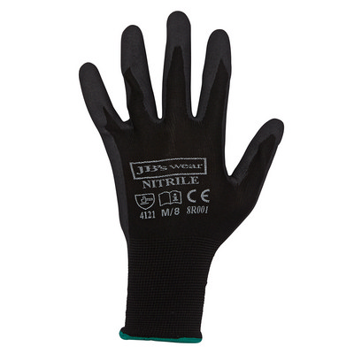 JBs Black Nitrile Breathable Glove (12 Pk) 8R001_JBS