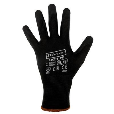 JBs Black Light Pu Breathable Glove (12 Pk) 8R004_JBS