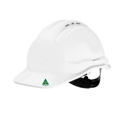 JBs Hard Hat Pinlock Harness (18Pk) Green 8TG57_JBS