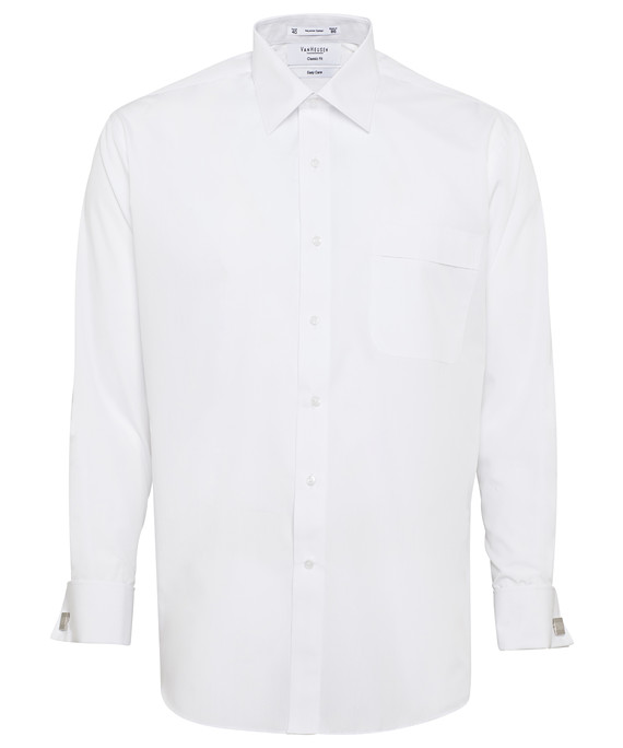Van Heusen Long Sleeve Polyster Cotton Mens Business Shirt A201_VH