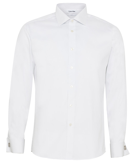 Calvin Klein Long Sleeve Mens Business Shirt CKA501_VH