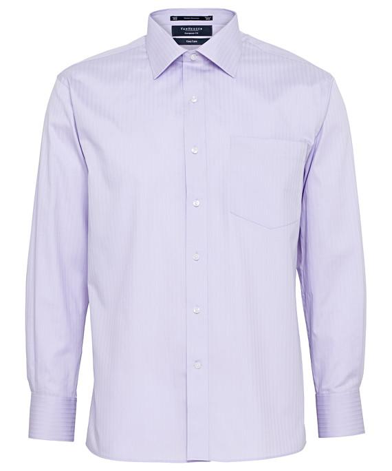 Van Heusen Long Sleeve Cotton Poly Mens Business Shirt E140_VH