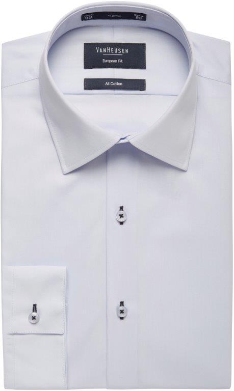 Van Heusen Long Sleeve All Cotton Mens Business Shirt E159_VH