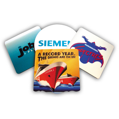 3MM RUBBER SPONGE 2 COLOUR - (printed with 2 colour(s)) COASTER2C3MS95X_OXY