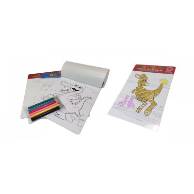 A5 Coling In Magnet (col Your Own Magnet) Bag With Pencil - (printed with 1 colour(s)) CYOM_OXY