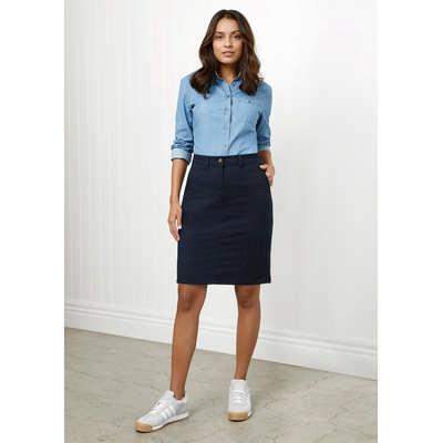 Ladies Lawson Chino Skirt BS022L_BIZ