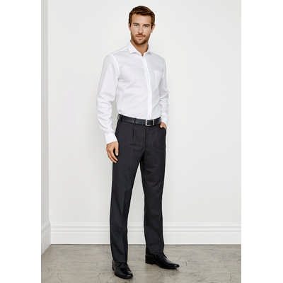 Mens Classic Pleat Front Pant BS29110_BIZ
