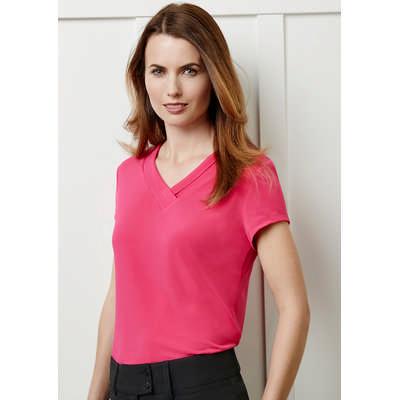 Ladies Lana Short Sleeve Top K819LS_BIZ