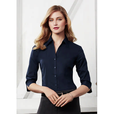 Ladies Metro 34 Sleeve Shirt LB7300_BIZ