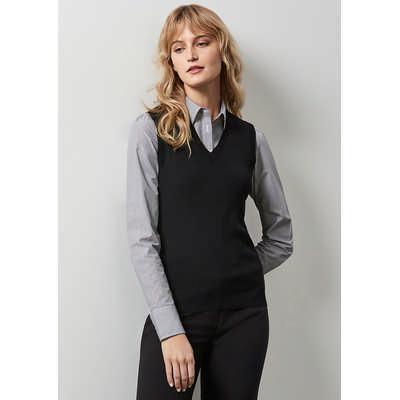 Ladies V-neck Vest LV3504_BIZ