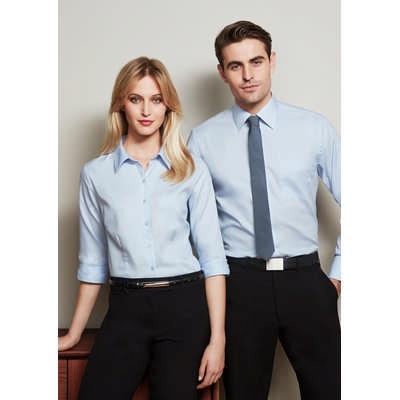Ladies Luxe 3/4 Sleeve Shirt S10221_BIZ