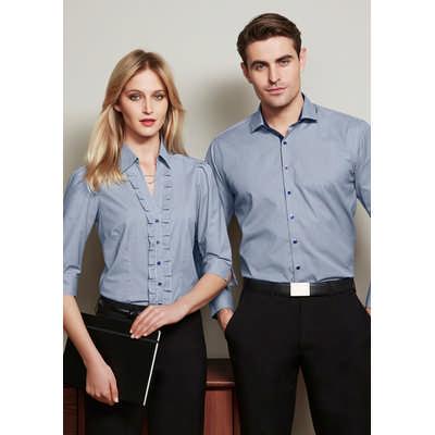 Mens Edge Long Sleeve Shirt S267ML_BIZ