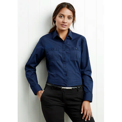 Ladies Bondi Long Sleeve Shirt S306LL_BIZ