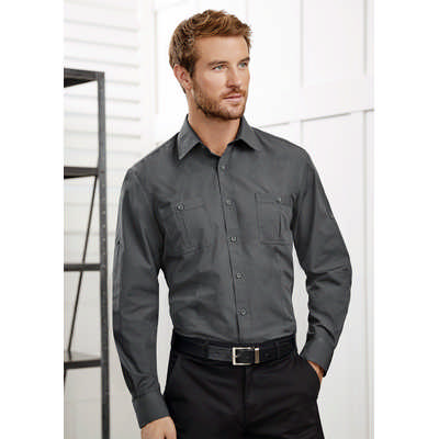 Mens Bondi Long Sleeve Shirt S306ML_BIZ