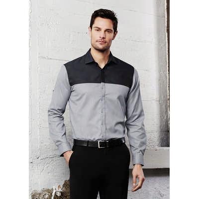 Mens Havana Long Sleeve Shirt S503ML_BIZ