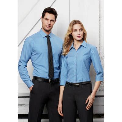 Mens Ellison Long Sleeve Shirt S716ML_BIZ