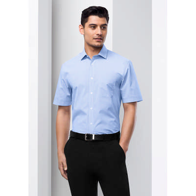 Mens Euro Short Sleeve Shirt S812MS_BIZ