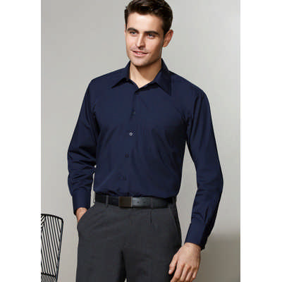 Mens Metro Long Sleeve Shirt SH714_BIZ