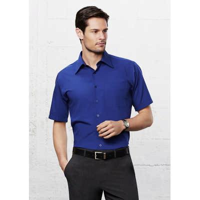 Mens Metro Short Sleeve Shirt SH715_BIZ