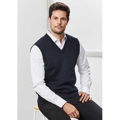 Mens Woolmix Vest WV6007_BIZ