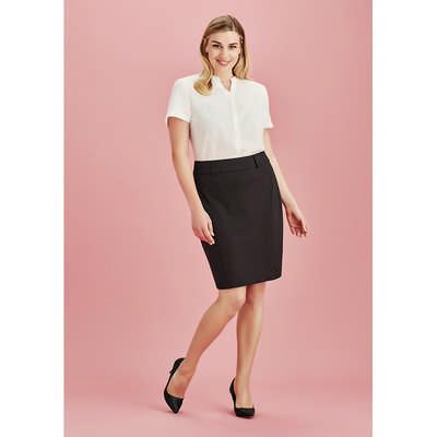 Womens Skirt With Rear Split 20640_BZC