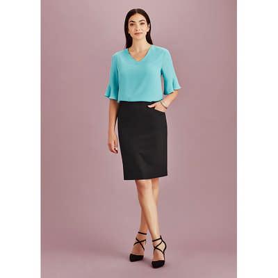 Womens Bandless Pencil Skirt 20717_BZC