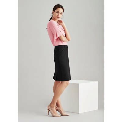 Womens Multi-pleat Skirt 24015_BZC