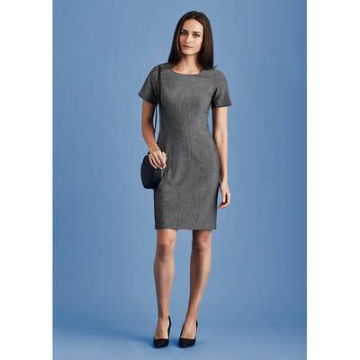 Womens Short Sleeve Dress 30312_BZC