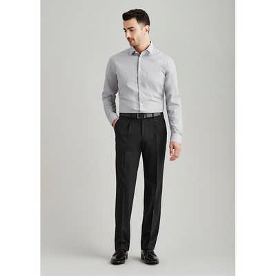 Mens One Pleat Pant Regular 74011R_BZC