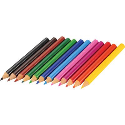 12-piece Colored Pencil Set - (printed with 1 colour(s)) SM-4460_BUL