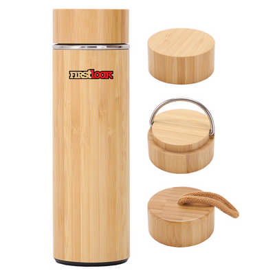 Burra Bamboo Drink Bottle - (printed with 1 colour(s)) DB022_DEX