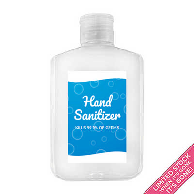 250ml Hand Sanitiser Gel - 75% Alcohol HS010_DEX