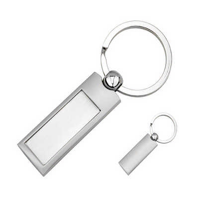 Silver Panel Key Ring KRS004_DEX