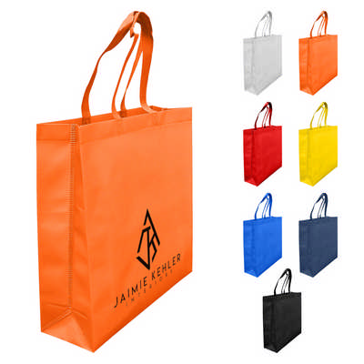Laminated Non Woven Bag With Large Gusset LNWB004_DEX