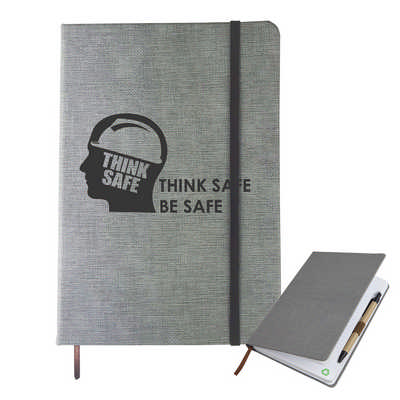 A5 Textured Pu Notebook NB006_DEX